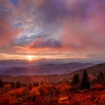 Clearing Storm — Blue Ridge Parkway, NC © jj raia